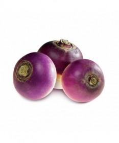 Navets Blancs Violets Ronds