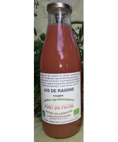 Jus De Raisins Rouges 1L
