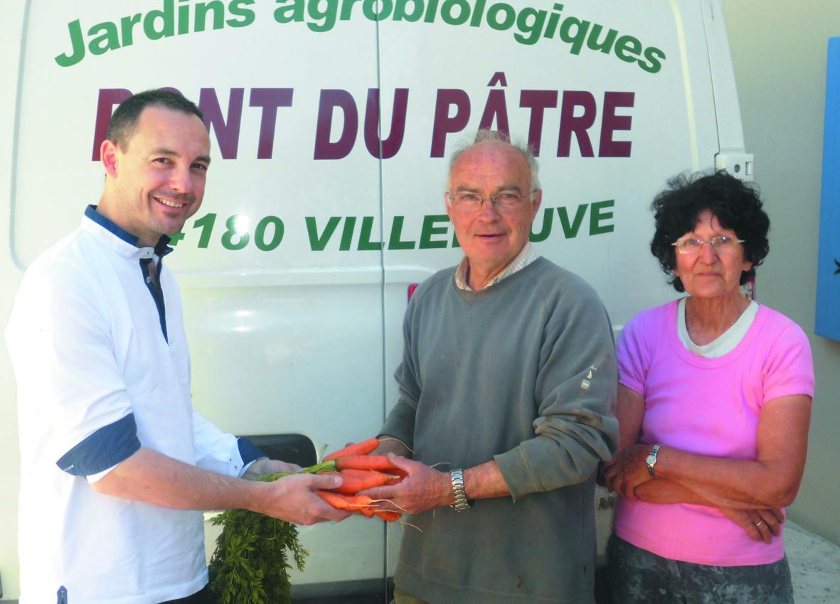 Jérôme Roy Chef cuisinier des Minimes